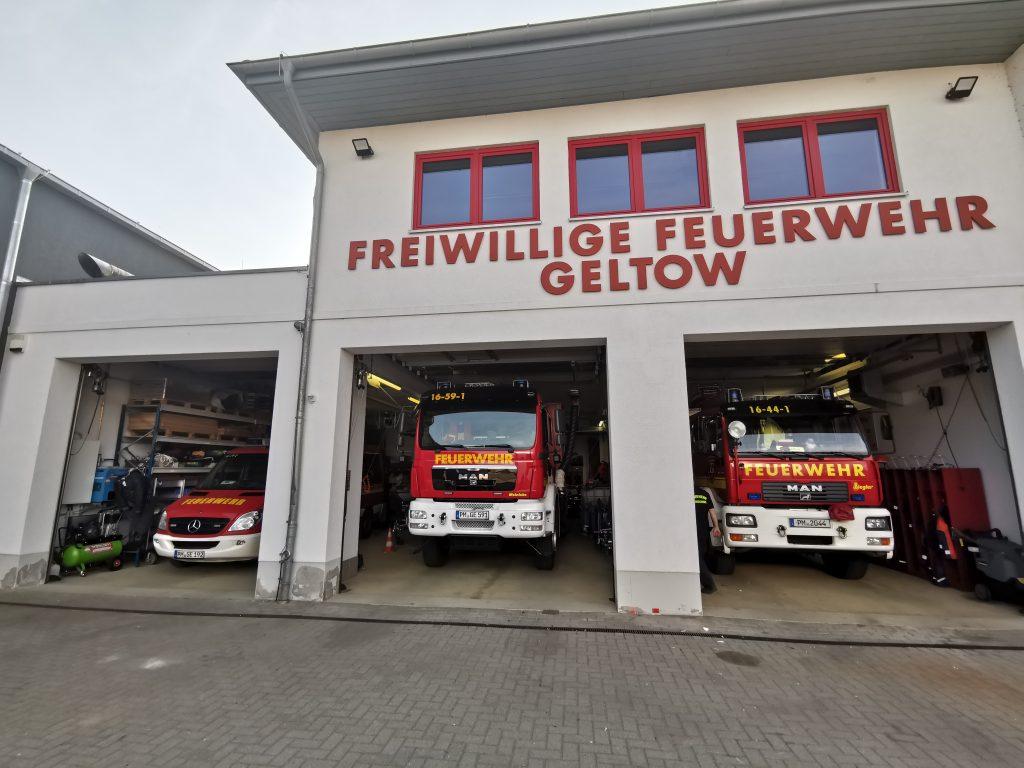 Klicken für mehr Information zum Gerätehaus der Feuerwehr.